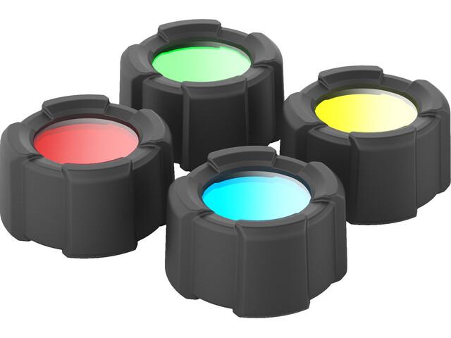 Ledlenser Color Filter Set Filtri colorati 32,5mm, nero